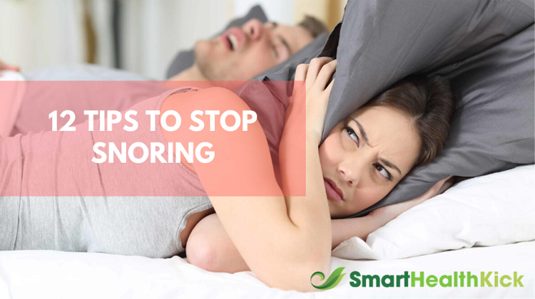 12 Tips to Stop Snoring