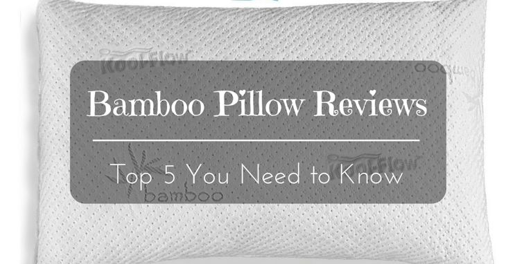 Bamboo Pillow Reviews: Pick Up The Best Bamboo Pillows For Better Sleep