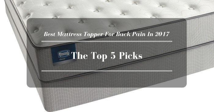 Best Mattress Topper For Back Pain In 2021: The Top 5