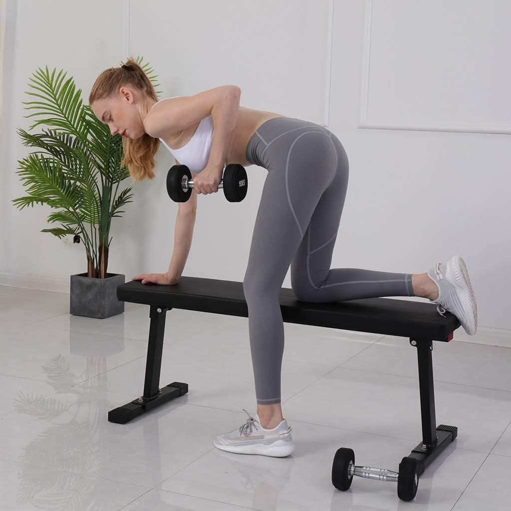 AmazonBasics Flat Weight Workout Exercise Bench