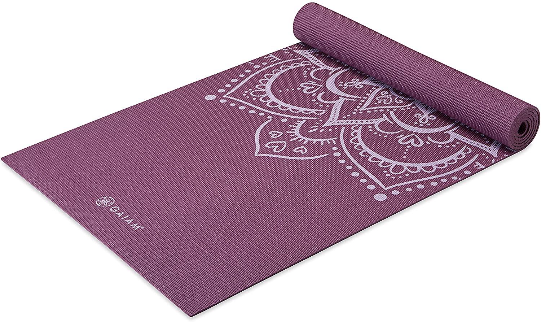 Gaiam Yoga Mat - Premium 5mm Print