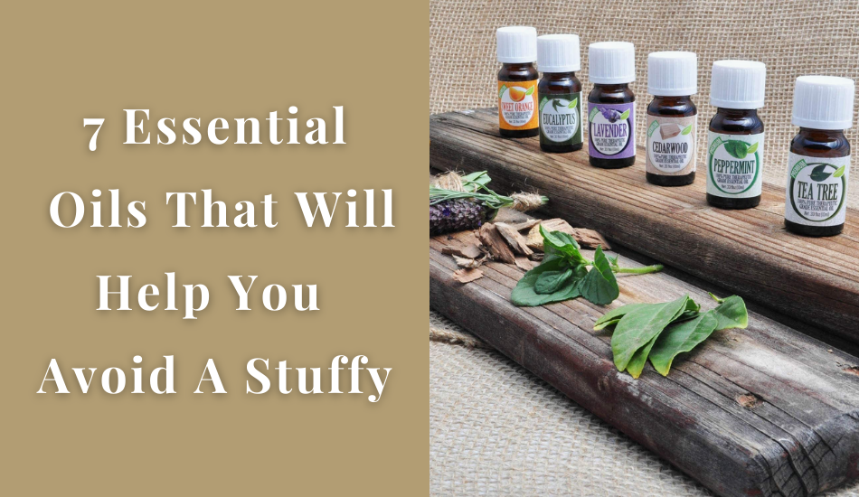 7 Essential Oils That Will Help You Avoid A Stuffy Nose During The Allergy Season