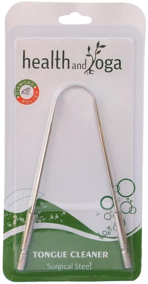 HealthAndYoga(TM) Tongue Cleaner Scraper