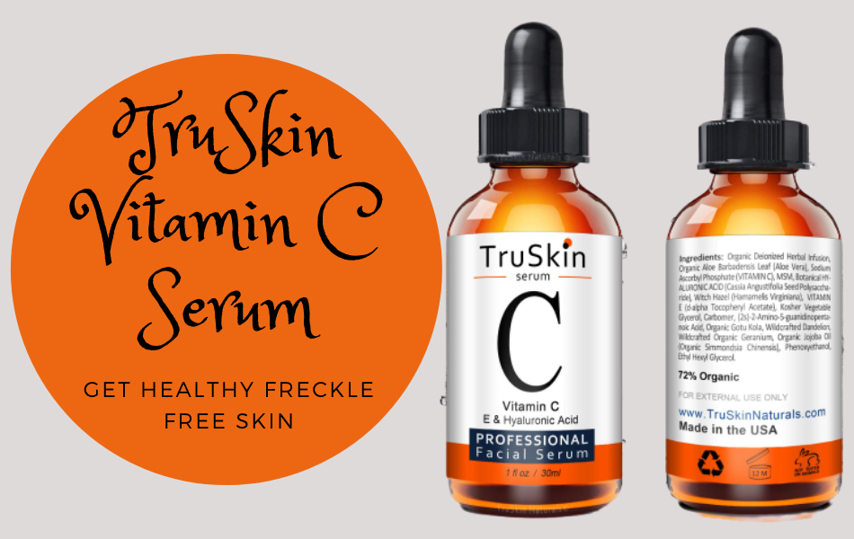TruSkin Vitamin C Serum: Get Healthy Freckle Free Skin