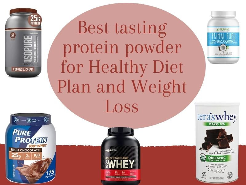 Best tasting protein powder for Healthy Diet Plan and Weight Loss