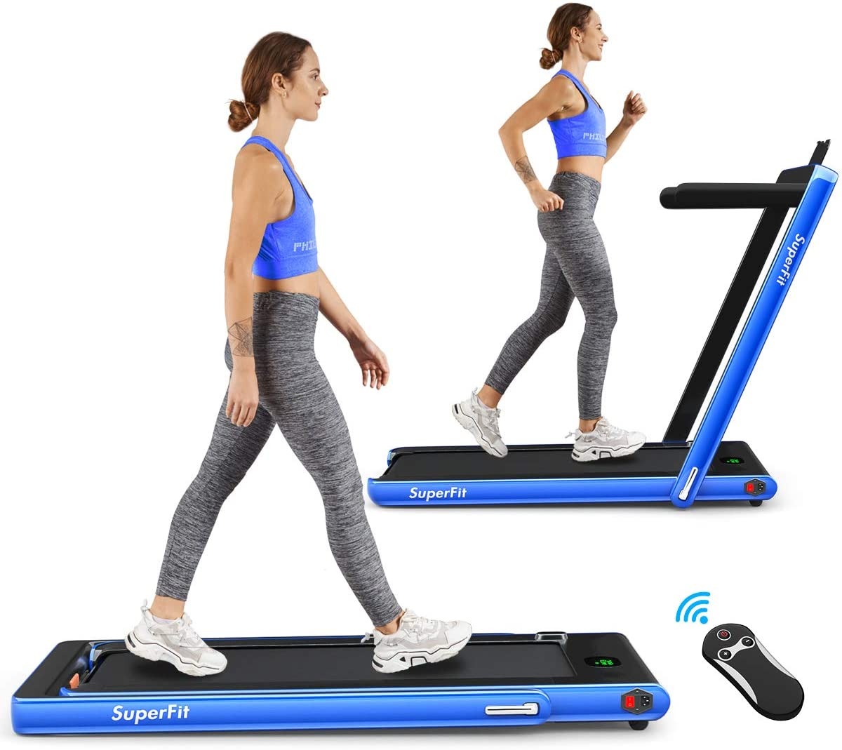 GoPlus 2.25 HP Electric best Folding Treadmill