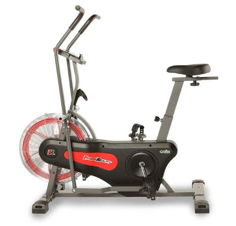 Fitness Reality 1000AR Bluetooth Air Resistance Exercise Fan Bike