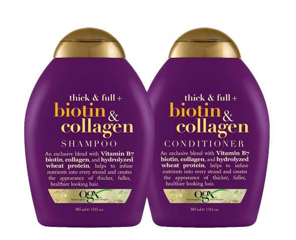 ogx biotin shampoo