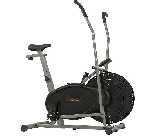 Sunny Health & Fitness Air Resistance Hybrid Fan Bike