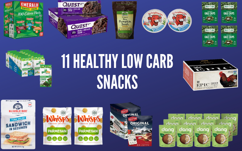 11 Healthy Low Carb Snacks to Buy at the Grocery Store