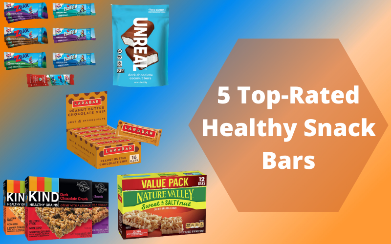 5 Top-Rated Healthy Snack Bars to Satisfy Your Hunger