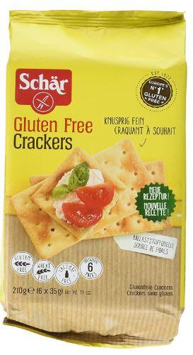Dr. Schar GF Crackers, 210g