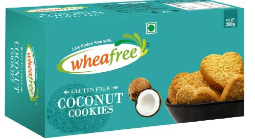 Wheafree Gluten Free Coconut Cookies 200g (Certified Gluten Free)