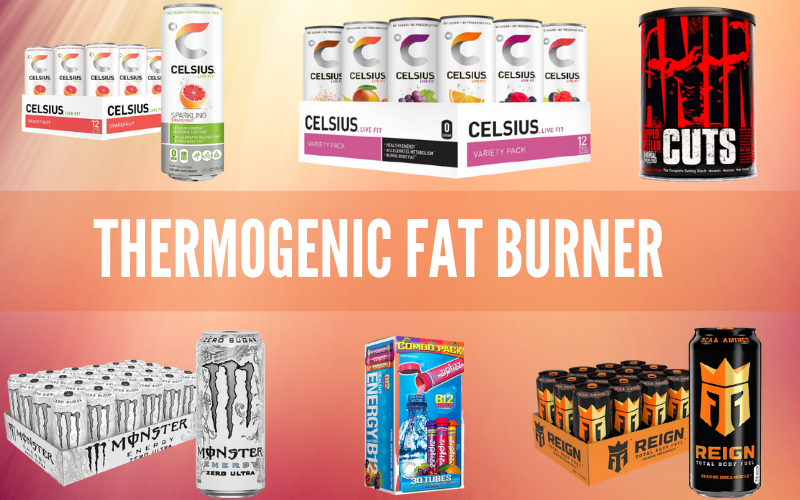 Best Thermogenic Fat Burner [Pick your best Supplement and Energy Drinks]