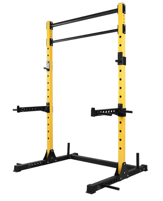 best folding squat rack