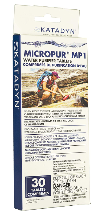 best water purification tablets in 2021