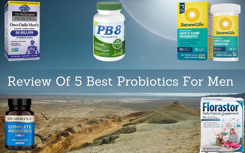 Review Of 5 Best Probiotics For Men In 2021
