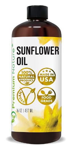 benefits of sunflower oil for skin