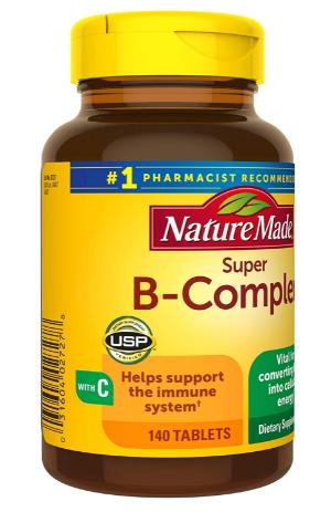 nature made super b complex review
