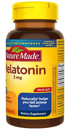nature made melatonin reviews
