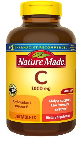 nature made vitamin c reviews