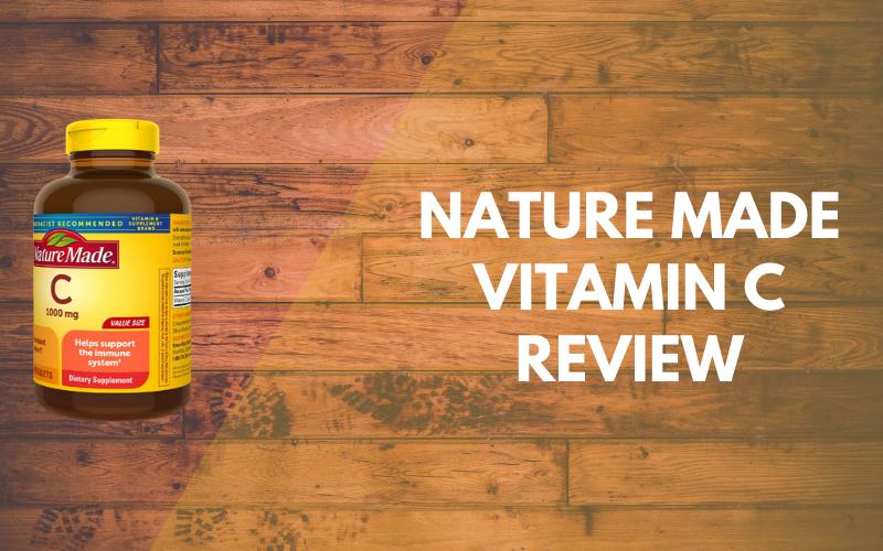Nature Made Vitamin C Review: Good bones, teeth, skin and health