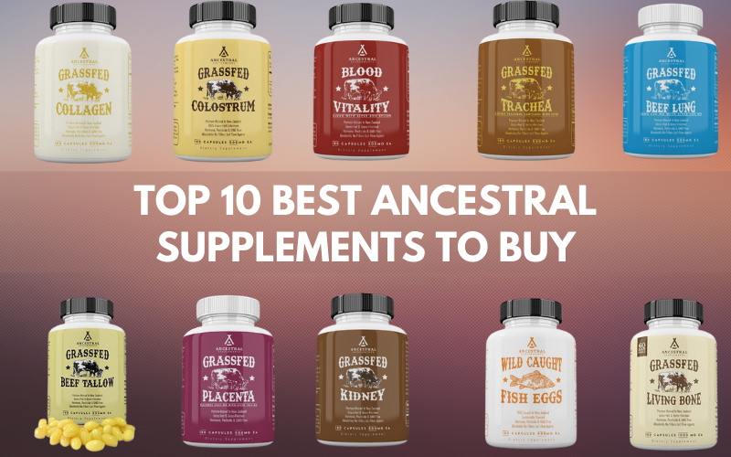 Top 10 Best Ancestral Supplements to Buy in 2021